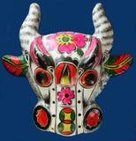 Máscara del buey Foto de archivo libre de regalías