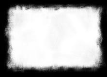 Máscara del carbón de leña/de la tiza Foto de archivo