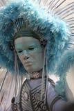 Máscara del carnaval de Notting Hill Imágenes de archivo libres de regalías