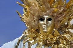 Máscara del carnaval de Sun Foto de archivo libre de regalías