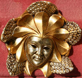 Máscara del carnaval de Venecia Foto de archivo