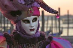Máscara del carnaval de Venecia Fotos de archivo libres de regalías