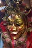 Máscara del carnaval de Venecia Imagenes de archivo