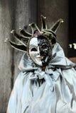Máscara del carnaval de Venecia Fotografía de archivo libre de regalías