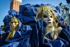 Máscara del carnaval de Venecia Fotos de archivo