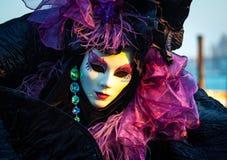 Máscara del carnaval de Venecia Imagen de archivo