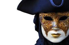Máscara del carnaval de Venezia Fotos de archivo