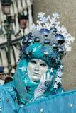 Máscara del carnaval del carnaval de Venecia Imagen de archivo libre de regalías