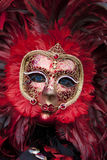 Máscara del carnaval en la Venecia Italia Imagen de archivo