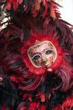 Máscara del carnaval en la Venecia Italia Fotos de archivo libres de regalías
