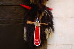 Máscara del carnaval, Ptuj, Eslovenia Foto de archivo