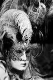 Máscara del carnaval, Venecia fotografía de archivo