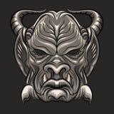 Máscara del demonio libre illustration