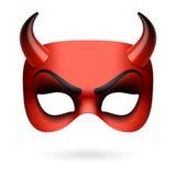 Máscara del diablo Imágenes de archivo libres de regalías