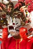 Máscara del diablo Fotos de archivo libres de regalías