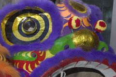 Máscara del dragón Foto de archivo libre de regalías