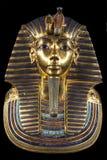 Máscara del entierro de Tutankhamun Imagenes de archivo