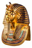 Máscara del entierro de Tutankhamun imagen de archivo