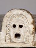 Máscara del griego clásico Foto de archivo libre de regalías