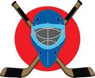 Máscara del hockey Fotos de archivo libres de regalías