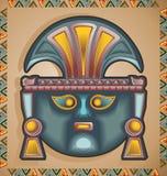 Máscara del inca Foto de archivo libre de regalías