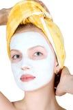 Máscara del maquillaje Fotografía de archivo