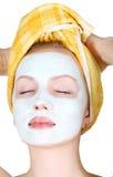 Máscara del maquillaje Imagen de archivo