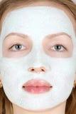 Máscara del maquillaje Foto de archivo