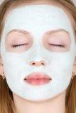 Máscara del maquillaje Fotos de archivo libres de regalías