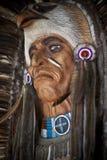 Máscara del nativo americano Imagen de archivo libre de regalías