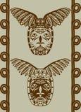 Máscara del nativo americano Imágenes de archivo libres de regalías