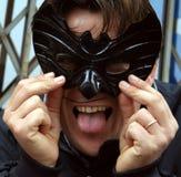 Máscara del palo Imagen de archivo libre de regalías