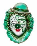 Máscara del payaso fotografía de archivo