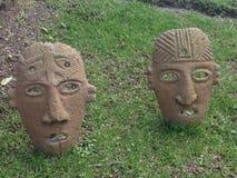 Máscara del salvaje Imagen de archivo
