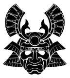 Máscara del samurai Fotografía de archivo libre de regalías