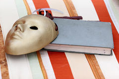 Máscara del teatro Fotografía de archivo libre de regalías