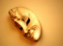 Máscara del teatro Fotografía de archivo
