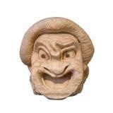 Máscara del teatro del griego clásico Fotografía de archivo libre de regalías