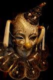 Máscara del tonto en casquillo Foto de archivo libre de regalías