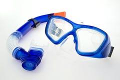 Máscara del tubo respirador Fotos de archivo