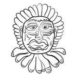 Máscara del vector Imagen de archivo