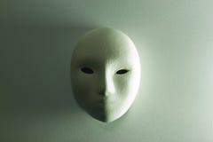Máscara del yeso en estudio Fotos de archivo
