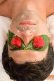 Máscara do ácido da fruta Fotografia de Stock