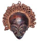 Máscara do africano do vintage fotos de stock royalty free
