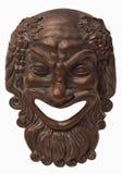 Máscara do Bacchus Fotografia de Stock