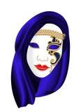 Máscara do carnaval Ilustração Stock