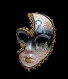 Máscara do carnaval das mulheres Fotos de Stock Royalty Free