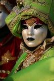 Máscara do carnaval de Veneza Imagem de Stock Royalty Free