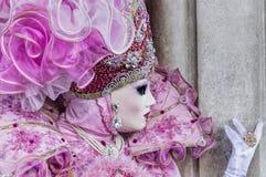 Máscara do carnaval de Veneza Imagens de Stock