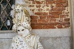 Máscara do carnaval de Veneza Foto de Stock